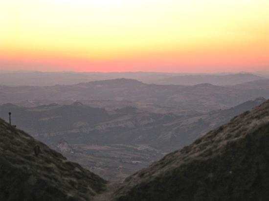 La Terrazza : Sunset view from Le Terrazza