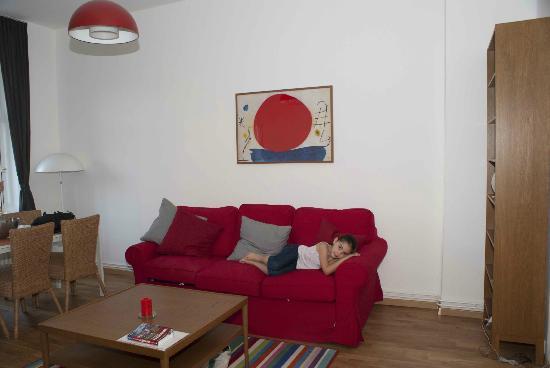 B! Apartments: Salón-comedor