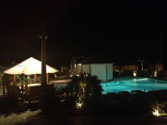 Restaurant Saint Barth: de nuit