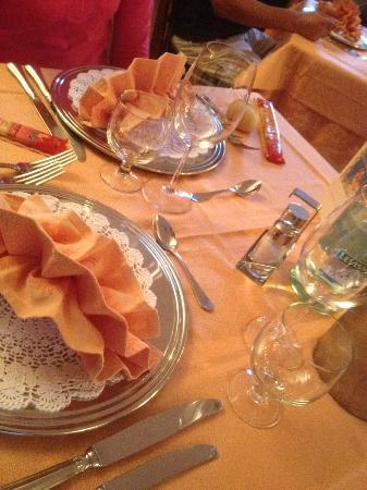 Olimpia Hotel Bormio: Salle à manger, repas du 15 août