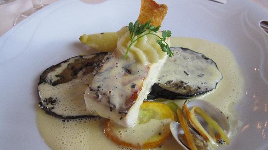 Hotel Restaurant Riegeler Hof : Très bon poisson sur aubergines