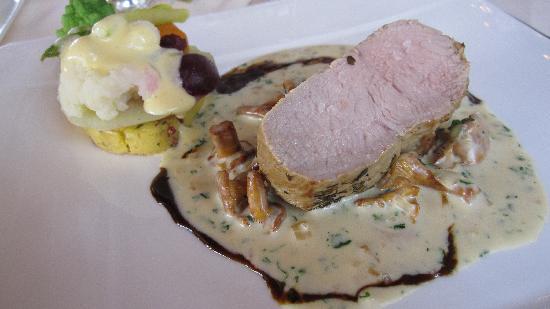 Hotel Restaurant Riegeler Hof : Carré de veau... DU BEURRE !