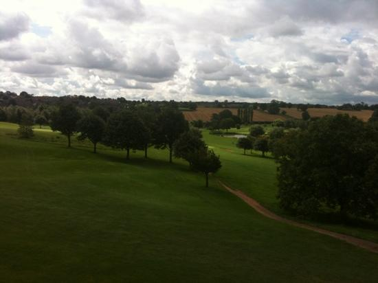 BEST WESTERN PLUS Coventry Windmill Village Hotel Golf & Spa: view from my room ... gorge