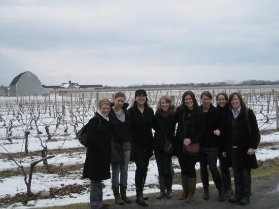 North Fork Wine Tours : Long Island Bachelorette party