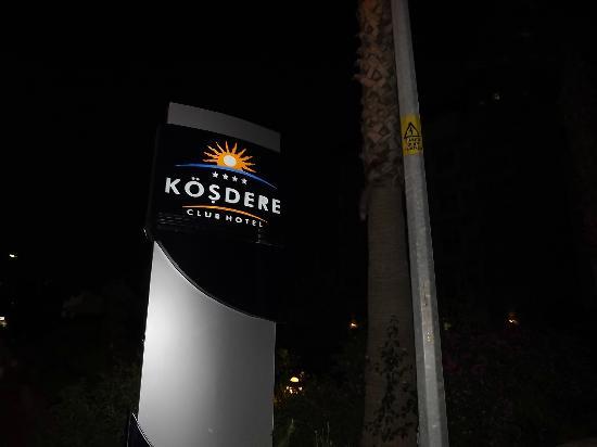 Kosdere Club Hotel: hotel logo