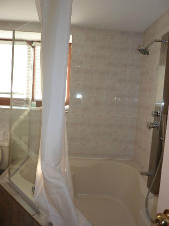 Habitation du Vieux Montreal : The en suite bathroom (there's a small powder room downstairs)