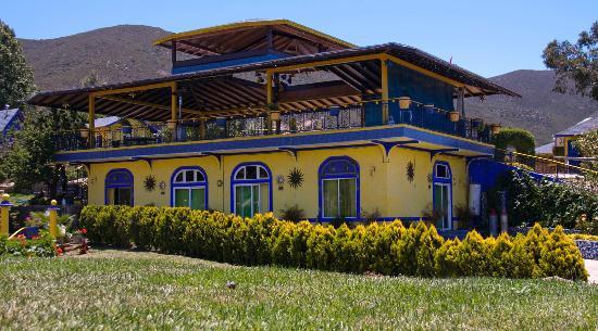 Quinta Bugambilias: habitaciones exterior