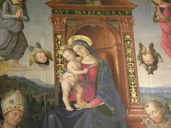 Spello, Italy: Madonna del Pinturicchio