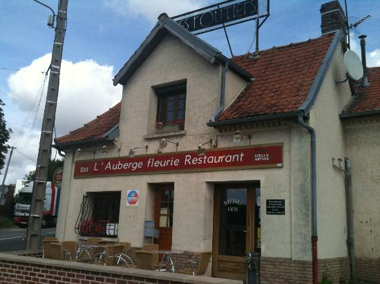 Abbeville, France : le relais routier
