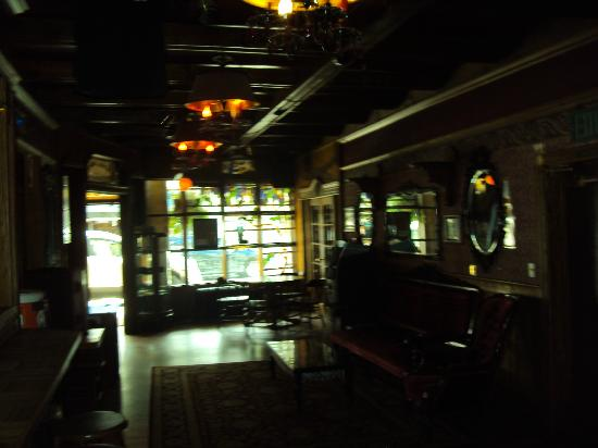 The Alaskan Hotel & Bar: Inside Bar Lobby