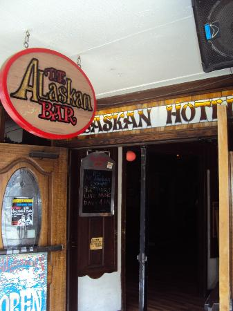 The Alaskan Hotel & Bar: Bar Entrance