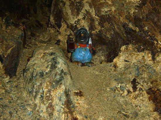 Rodelbahn: interno miniera
