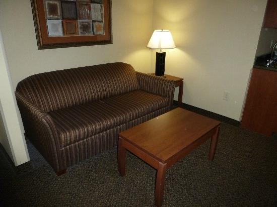 Holiday Inn Express Hotel & Suites Lewisburg: Sitting Room part of the suite