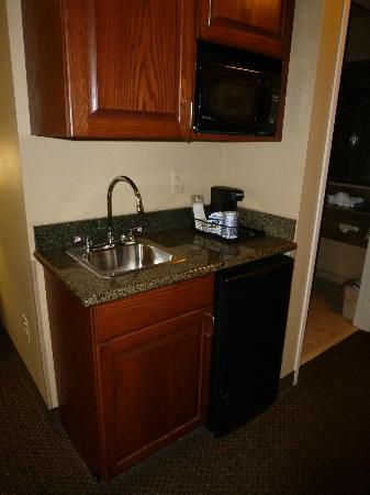 Holiday Inn Express Hotel & Suites Lewisburg: Kitchenette in our suite