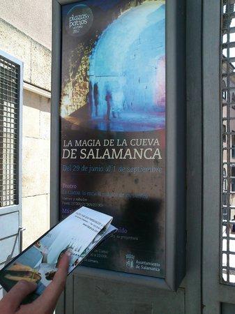 Cueva de Salamanca : Entrada