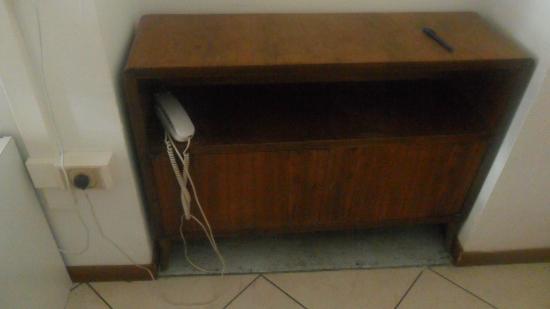 Hotel Colorado: desk