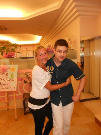 Hotel Romea: ciao Michael!