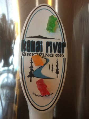 Kenai River Brewing Company: Tap Handle