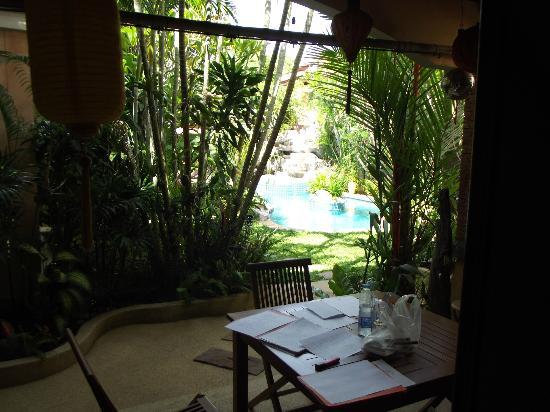 Le Viman Resort : Vue de ma chambre !