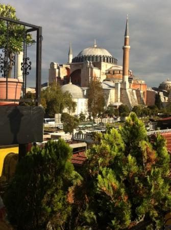Turk Art Hotel: Desde la terraza