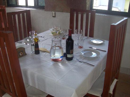 Refugio Romano: comida