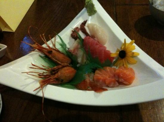 Umi Japanese Restaurant: Sashimi at Umi