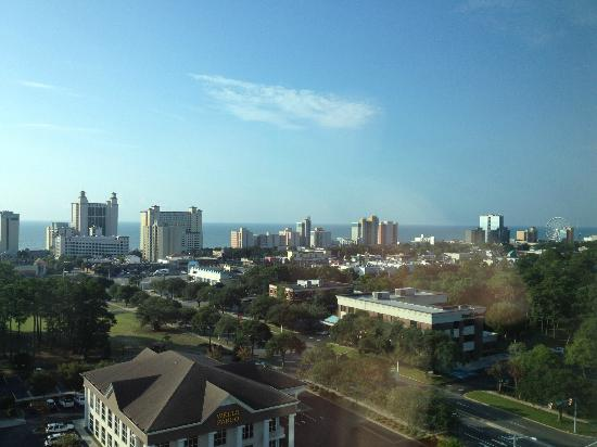 Sheraton Myrtle Beach Convention Center Hotel: Ocean view from 10th floor