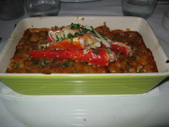Restaurant Le Gourmand: Crab leg macaroni and cheese.