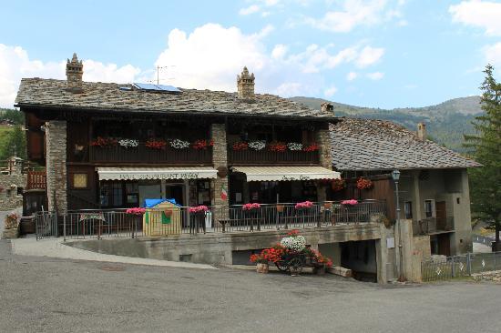 St. Pierre, Italia: Ristorante Vetan