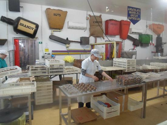 John Bull Rock Factory: Packaging Chocolate Animals