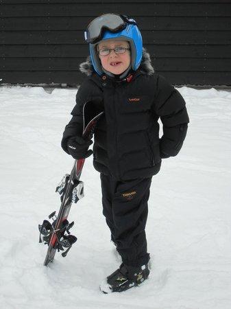Levi Hotel Spa: Ski Lessons