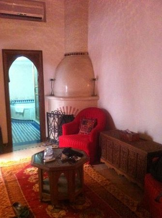 Dar Alhambra: relax corner in our room