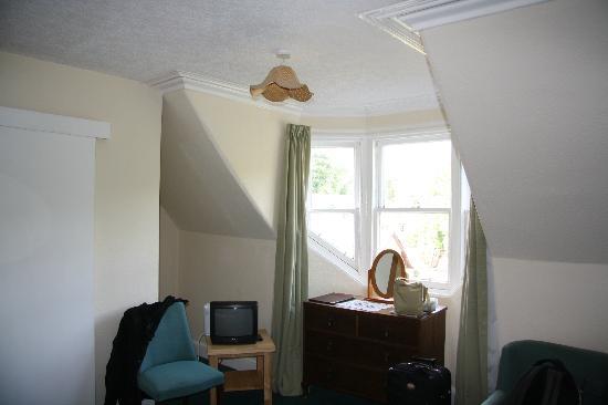 Cuilfail Hotel: ventana abuardillada