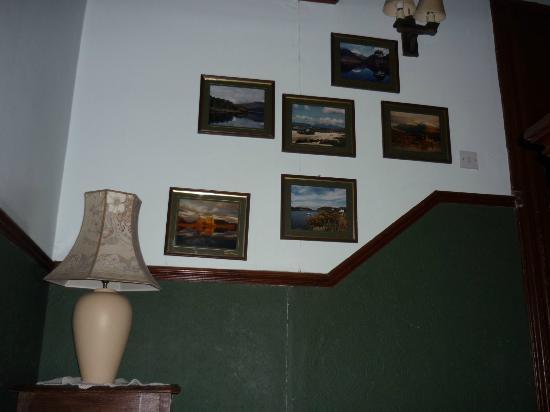 Cuilfail Hotel: escalera