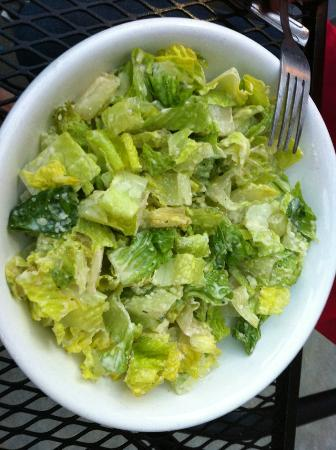 Caesar salad picture of tin can fish house and oyster for Tin can fish house