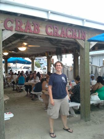 On the Bay Seafood : The outdoor dining