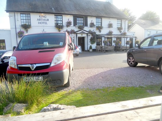 The King Arthur Hotel: great place for a meal