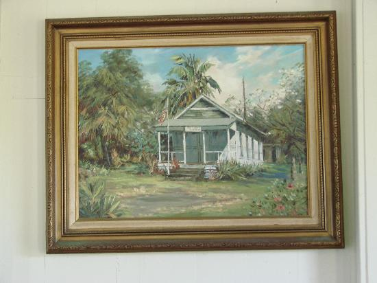 Hana Cultural Center : Painting of the Court House