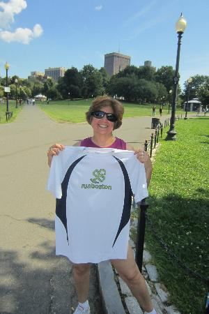 RunBoston Running Tours: Buy the t-shirt! Great quality.