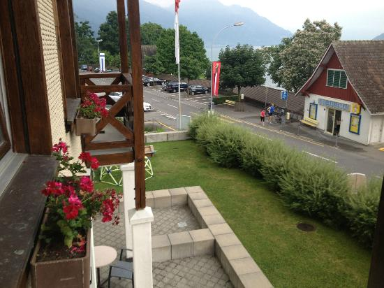 Hotel Gerbi : Balcony view