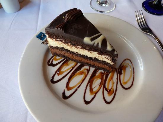 Texas de Brazil: Yummy dessert!