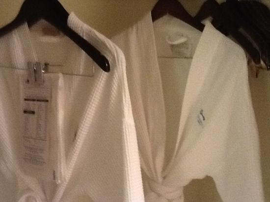 The Carolina Inn: nice robes that we didn't use because we are affraid of the charge on our credit card