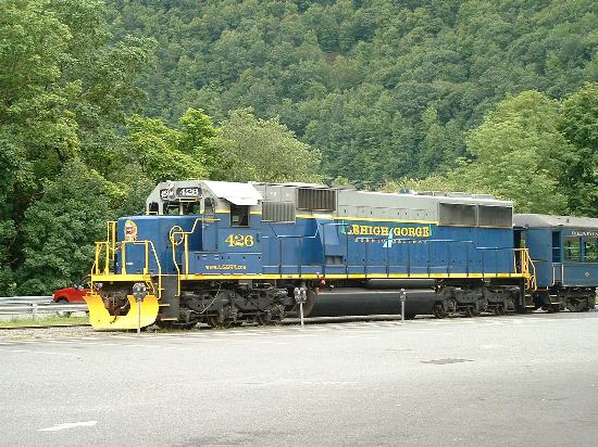 Lehigh Gorge Scenic Railway: Train