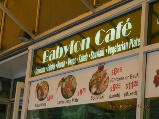 Babylon Cafe Vancouver Hours