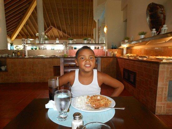 Talanquera Beach Resort: la primera camida