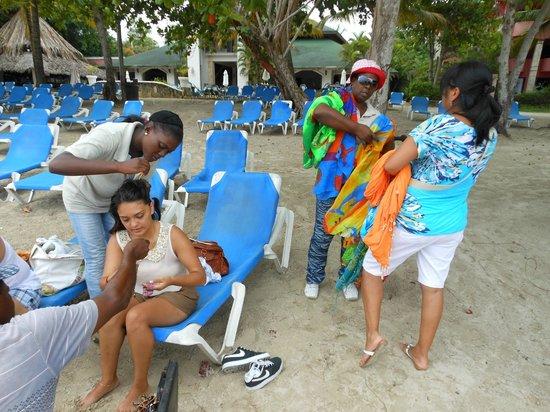 Talanquera Beach Resort: beach