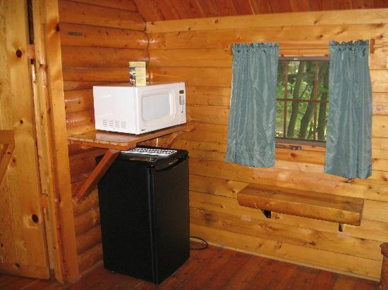 KOA 1000 Islands / Ivy Lea: Included fridge and microwave