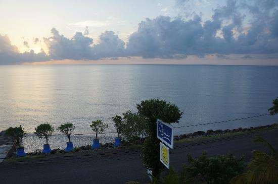 Sea Front Inn: View from our room