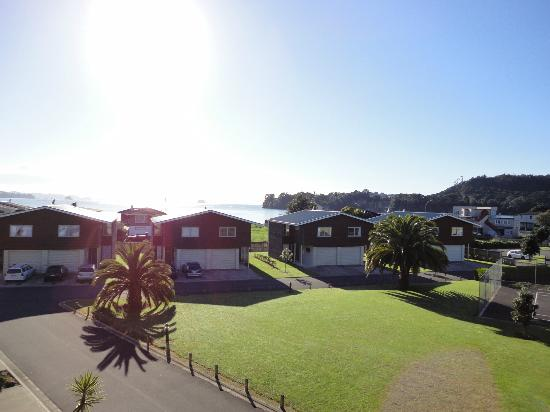 Oceans Resort Whitianga: View from second floor balcony