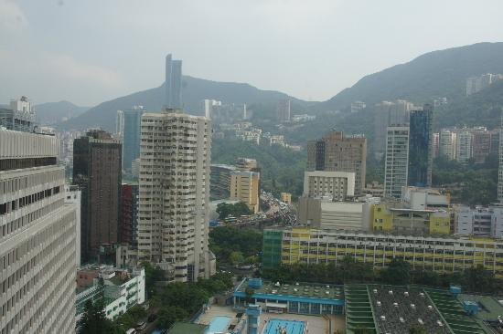 The Charterhouse Causeway Bay Hotel: Nice view